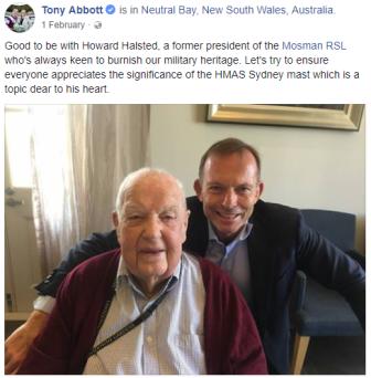 web Howard Halsted with Tony Abbott