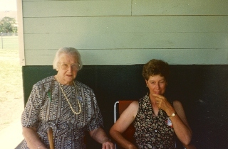 web Kathleen (Devenney) Richardson aged 88yrs 11mths and unknown 1994