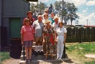 web Terry O'Neill (back) Barry, John, Patricia & Dalma O'Neill (centre) Pam O'Neill, Mary McQuade, Peter & Verna O'Neill (front) 1994